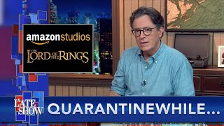 Quarantinewhile... Stephen Has The Scoop On Nude Scenes In Amazons \LOTR\ Series