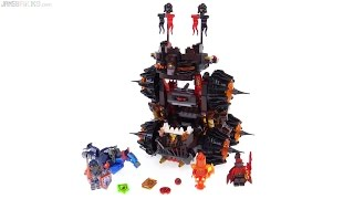 LEGO NEXO Knights General Magmar's Siege Machine of Doom review!  70321