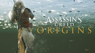 Assassin's Creed Origins Exclusive Gameplay - Swimming, Air Assassination, & More!