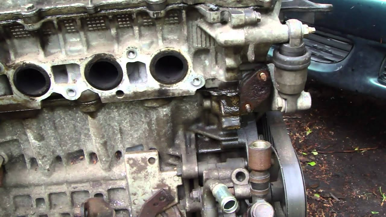How To Notice Oil Leak In Timing Chain Tensioner Area