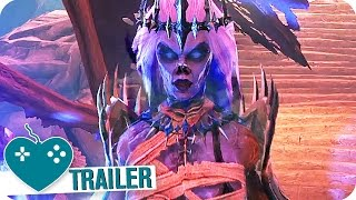 NEVERWINTER PS4 Launch Trailer (2016) PS4, Xbox One, PC Game