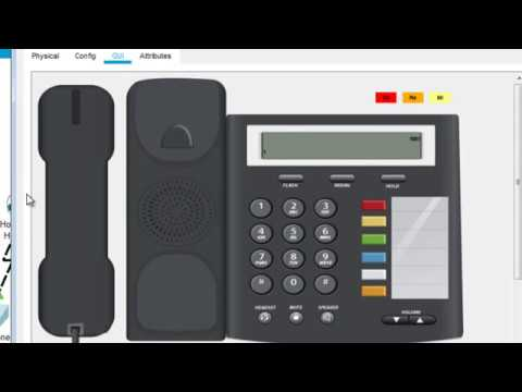 How to set up a VOIP network with Analog and IP Communicator Phone
