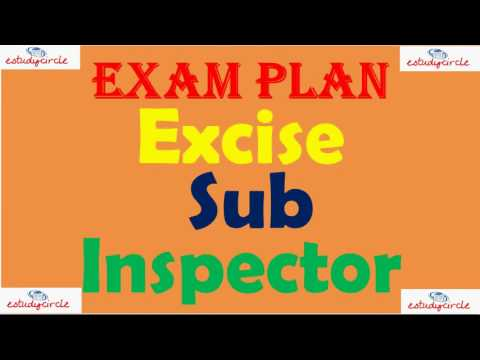 Exice Sub Inspector Exam Plan ॥ Lecture  on Excise Inspector॥ MPSC How To Study Excise Sub Inspector