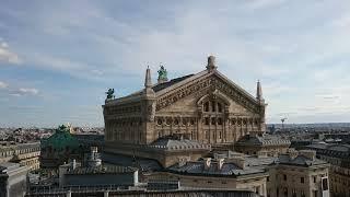 パリ・ギャラリー ラファイエット百貨店  屋上からの景色
