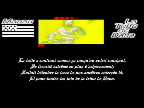 Manau ------ La tribu de dana ------Lyrics