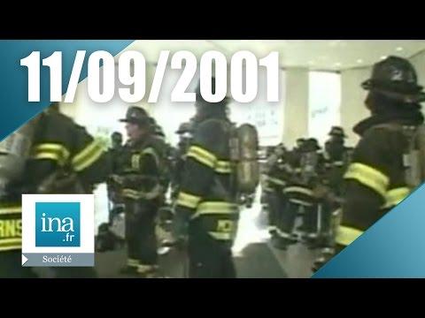 11 septembre 2001 le film des frères Naudet à l'intérieur du World Trade Center | Archive INA