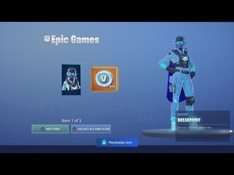 Buying & UNLOCKING NEW 'BREAKPOINTS CHALLENGE PACK' With FREE V-Bucks Fortnite REWARD!!