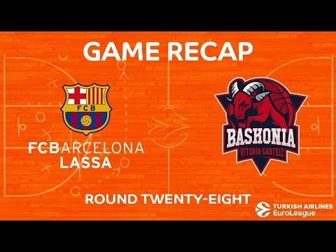 Highlights: FC Barcelona Lassa - Baskonia Vitoria Gasteiz