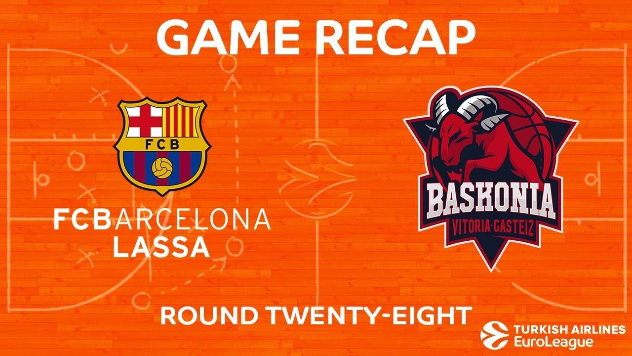 eddc1daa1 Highlights  FC Barcelona Lassa - Baskonia Vitoria Gasteiz - YouTube