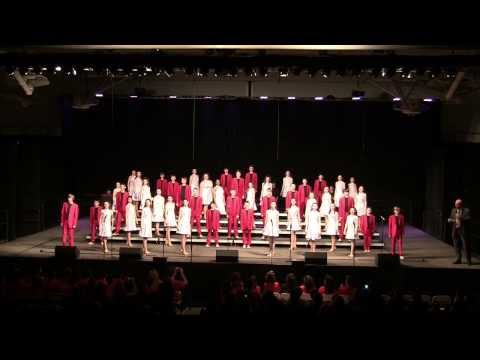 """Edison Middle School Show Choir - """"Electric Youth"""" - 2014 WWS Choral Classic"""