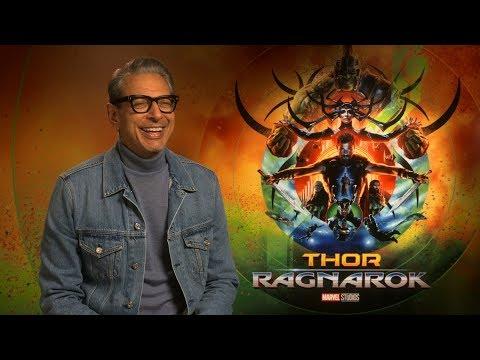 Thor: Ragnarok interview: hmv.com talks to Jeff Goldblum & Taika Waititi