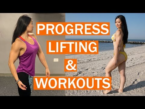 Strong Woman Bodybuilding Workout & Progress - Lose Fat Gain Muscle - Fat Loss Cyber Monday Special