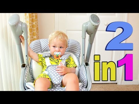 PRIMO 2-in-1 VOYAGER SWING & HIGH CHAIR