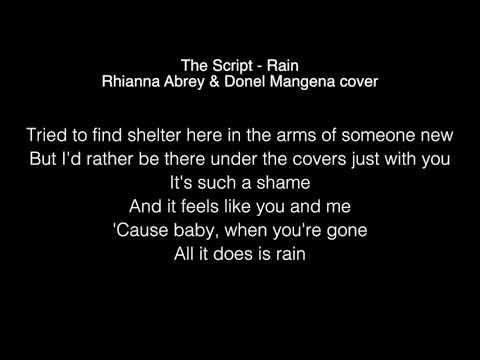 Rhianna Abrey & Donel Mangena - Rain Lyrics (The Script)  The Voice UK