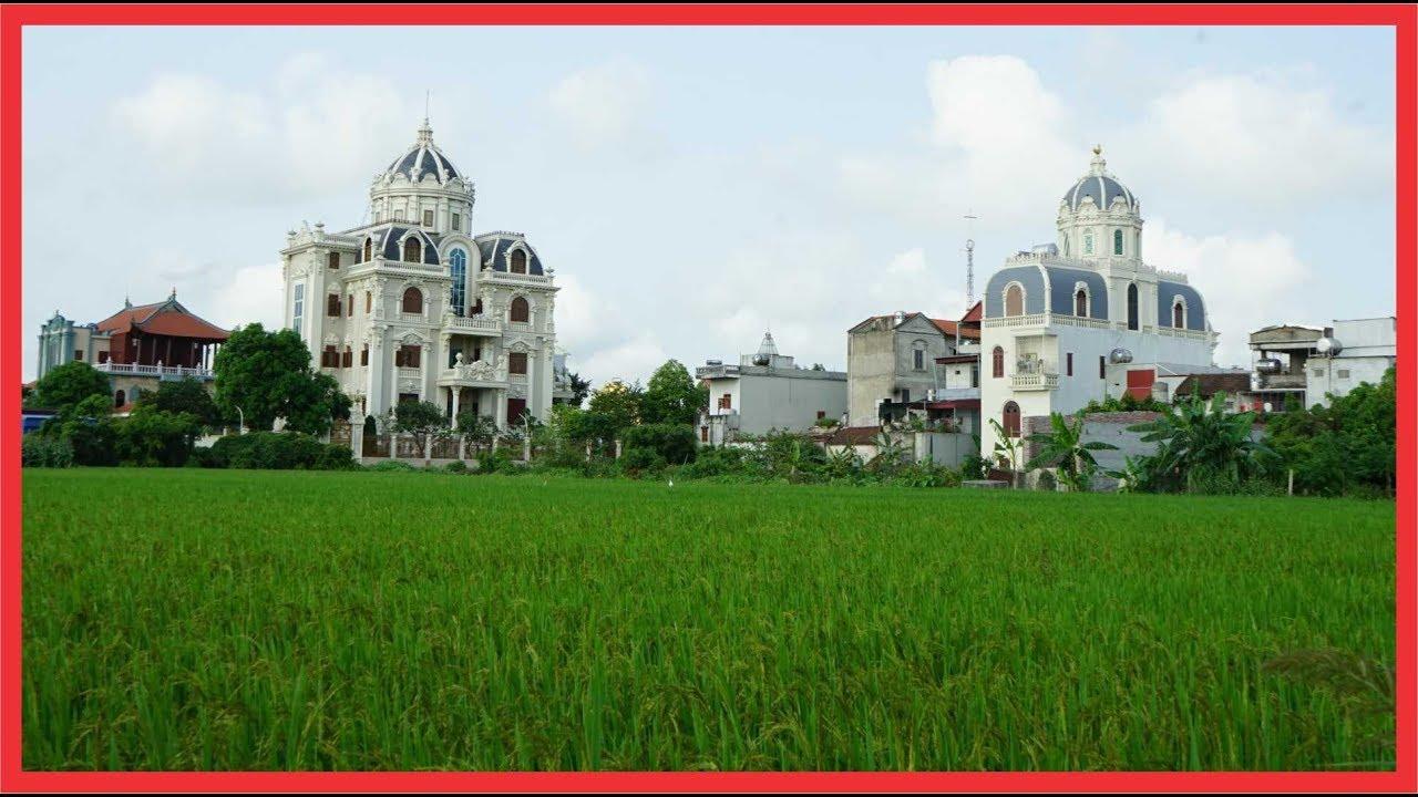 Nam Định, Nam Định: Choáng ngợp những lâu đài dát vàng nguy nga bên đồng lúa
