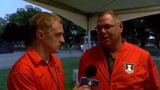 Illinois Track & Field Mike Turk NCAA Prelims Interview