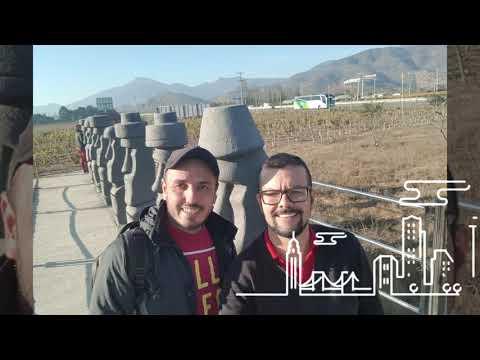 Nossa Viagem Para Santiago, Chile
