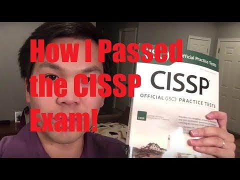 How I Passed the CISSP Exam! (My 12 week method)