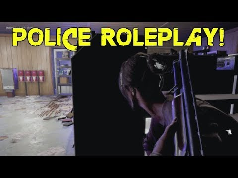 far cry 5 custom map fun #16: Hostage situation, police raid, SWAT response & cops! (Police Edition)