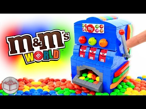 How to Build a LEGO M&M's Slot Machine
