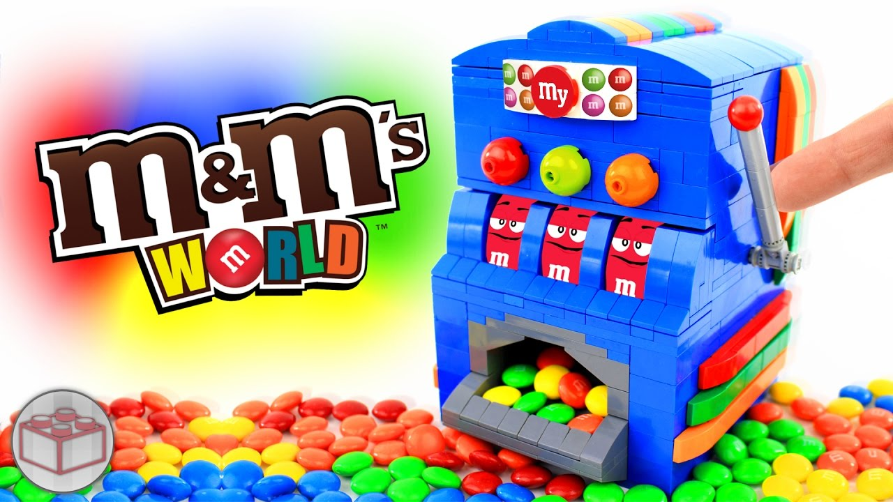 How To Build A Lego M Amp M S Slot Machine Youtube