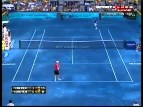Federer - Berdych   ATP Masters Series Madrid