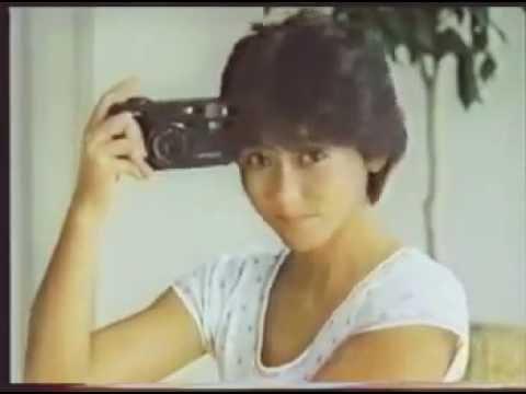ミノルタ 押すだけ全自動  斉藤慶子 CM 1983年