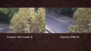 Canon EOS 5D MarkIII  VS  Canon 500D(Canon EOS 5D MarkIII против Canon 500D видео тест, который показал, что камеры снимают практически одинаково, не смотря..., 2014-09-28T17:51:02.000Z)