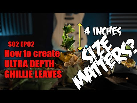 How to Create Ultra Depth Leaves
