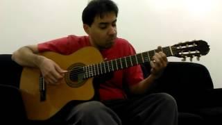 Marcelo S. M. interpreta o hino A Mensagem da Cruz (HC 291) no violão - 2016