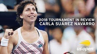 2018 US Open In Review: Carla Suarez-Navarro