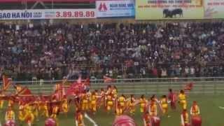 Dòng Máu Lạc Hồng tại Chọi Trâu Bắc Ninh 2015