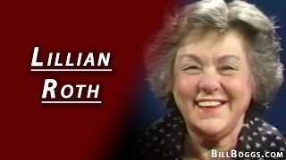 Lillian Roth Interview with Bill Boggs I'LL CRY TOMORROW was her bio picture