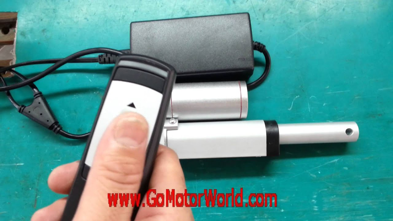 DC12 24V linear actuator control system