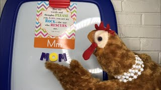 Puppet Shack: #Vlogtober #13 Letter M Bible Verse with Mrs. Chickers