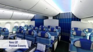 Polskie Linie Lotnicze LOT - prezentacja klas