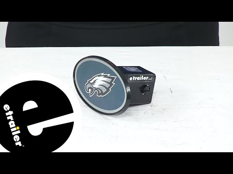 Etrailer | Review Of Great American Hitch Covers - Philadelphia Eagles NFL - HCC2011