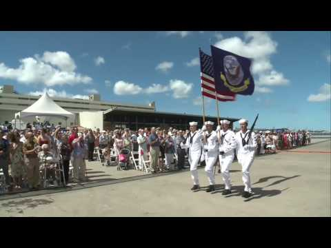 Adm. Harris Attends USS John Finn Commissioning Ceremony
