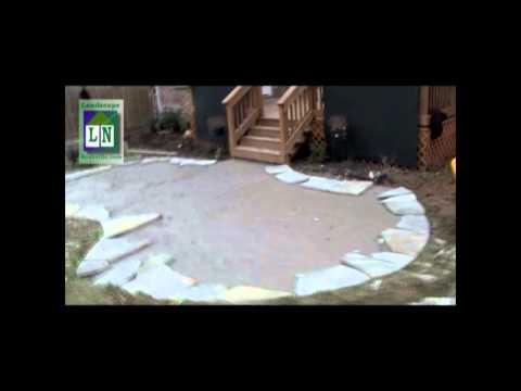Nashville Patios, Installing a Flagstone Patio Nashville-Patios