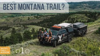 Could this be tнe Best Overlanding Trail in Montana? X Overland's Walthall Family Solo Series EP5