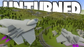 Unturned 3.18.11.0: FIGHTER JETS ADDED! (Waterfall Objects, New Quest, New Teaser, & More!)