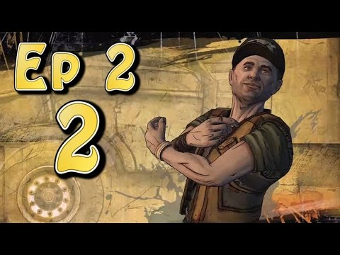 Tales From the Borderlands Ep 2 - Atlas Mugged - Part 2 (Choice Path 1) Gun, Hollow Point, Brofist