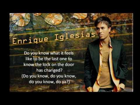 Do you know - Enrique Iglesias [Lyrics] + [HQ]