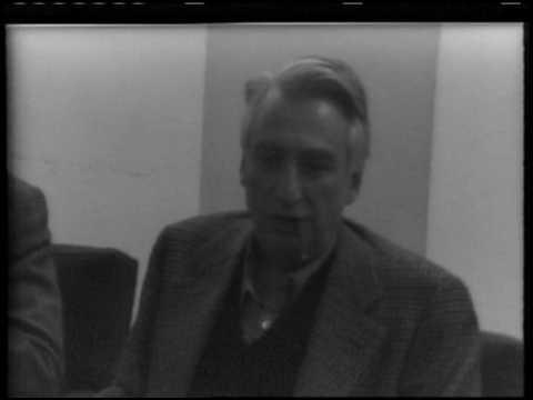 Roland Barthes, New York University, Part 1