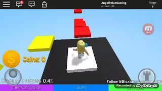 AngelReine Does Videos! // Roblox Mega Fun Obby // Nakakatawang bulilit! //AngelReine DoesVideos :)