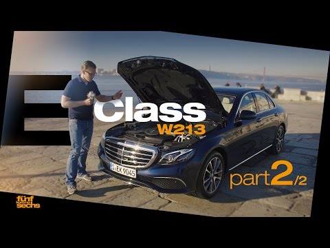 The new Mercedes E-Class W213 on Testdrive in Portugal / Pt.2 (German)