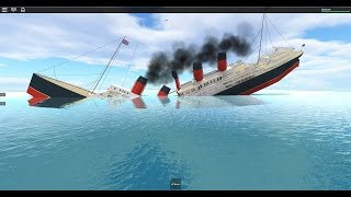 Roblox Ship Sinking Compilation