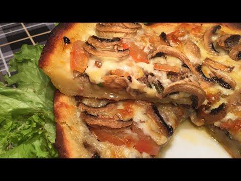 Мясной пирог-запеканка