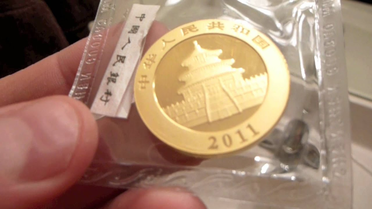 2011 1 Oz Gold Chinese Panda Sealed Coin Review