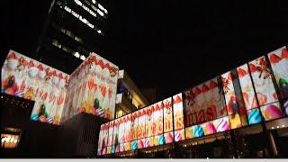 2014/12/13 東京スカイツリー 4F スカイアリーナ スカイツリータウン壁...